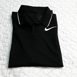Nike polo dry fit shirt